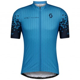 2021 SCOTT-RC Team 1.0 Blue Cycling Jersey