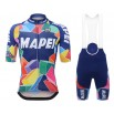 2017 Mapei Cycling Jersey And Bib Shorts Kit