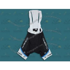 2011 Subaru Trek Black Cycling Bib Shorts
