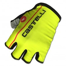 2017 Castelli Fluo Yellow Gloves