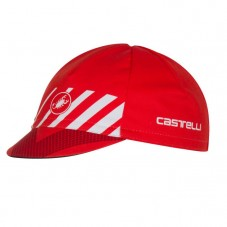 2017 Castelli Velocissimo Red Cycling Cap