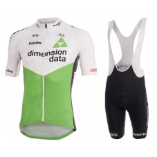 2018 Dimension Data White Cycling Jersey And Bib Shorts Kit