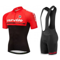 2018 Cervelo 3T Red Cycling Jersey And Bib Shorts Kit