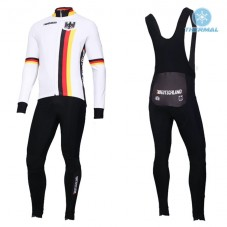 2019 Germany Country Team Thermal Cycling Jersey And Bib Pants Kit