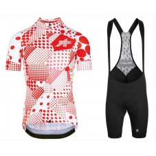 2020 Asos Erlkoenig Red Cycling Jersey And Bib Shorts Kit