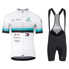 2020 Asos FF1 RS Benz White Cycling Jersey And Bib Shorts Kit