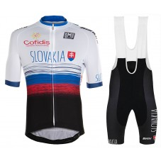2020 SLOVAKIA Country Team Cycling Jersey And Bib Shorts Kit