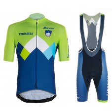 2020 SLOVENIA Country Team Cycling Jersey And Bib Shorts Kit