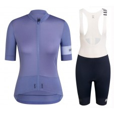 2020 Rapha Pro Team Women's Grey Cycling Jersey And Shorts Kit