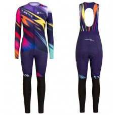 2020 Canyon Pro Team CS Women's Long Sleeve Cycling Jersey And Pants Kit