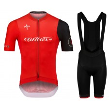 2020 Wilier Team Red Cycling Jersey And Bib Shorts Kit