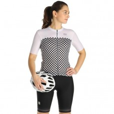 2021 Sportful Checkmate WB Women Cycling Jersey And Shorts Kit
