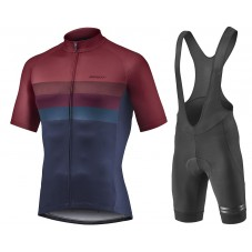 2021 Giant Team Color Cycling Jersey And Bib Shorts Kit