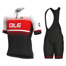 2021 Ale Blend White-Red Cycling Jersey And Bib Shorts Kit