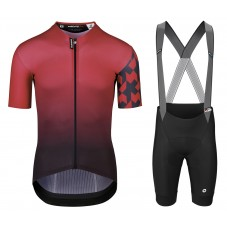 2021 Asos Mille GT Shifter Red Cycling Jersey And Bib Shorts Kit