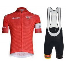 2021 DEUTSCHLAND TOUR General Leader Cycling Jersey And Bib Shorts Kit