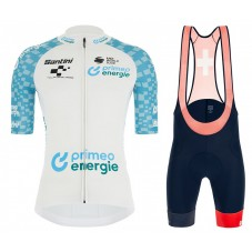 2021 TOUR DE SUISSE Best Young Rider White Cycling Jersey And Bib Shorts Kit