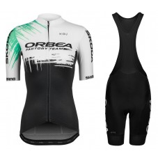 2021 Orbea Factory Team Women Cycling Jersey And Shorts Kit