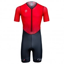 2021 Team Wilier Red Race Cycling Bodysuit