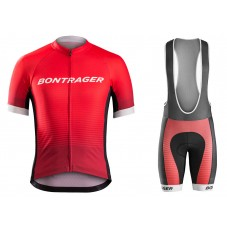 2016 Bontrager Specter Red Cycling Jersey And Bib Shorts Set