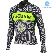 2016 Tinkoff Training Black Thermal Long Sleeve Cycling Jersey