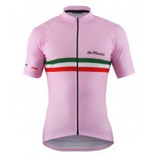 2016 De Marchi PT Italy Flag Pink Cycling Jersey