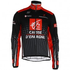 2019 Caisse d'Epargne Long Sleeve Cycling Jersey