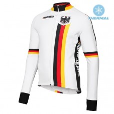 2019 Germany Country Team Thermal Long Sleeve Cycling Jersey