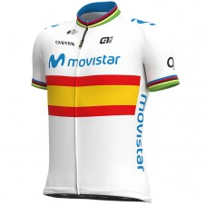 2020 Team Movistar Spain Champion Cycling Jersey