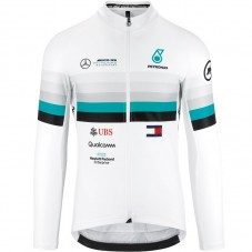 2020 Asos FF1 RS Benz White Long Sleeve Cycling Jersey
