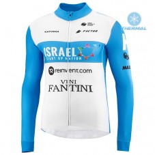 2020 Team ISRAEL STAT-UP NATION Thermal Long Sleeve Cycling Jersey