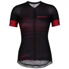 2020 Scott RC Women's Black-Red Cycling Jersey