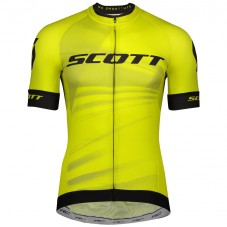 2020 Scott RC Team Yellow Cycling Jersey