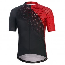 2021 Gore Flash Black-Red Cycling Jersey