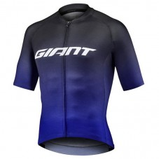 2021 Team Giant Black-Blue Cycling Jersey