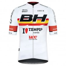 2021 Team BH Templo Cafes UCC White Cycling Jersey