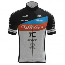 2021 Wilier 7C Black-Grey Cycling Jersey