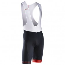 2017 Northwave Logo 3 Black-Red Cycling Bib Shorts