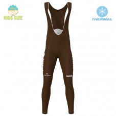 2020 Team AG2R Kids Thermal Cycling Bib Pants