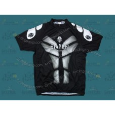 Bianchi Black/White Cycling Jersey