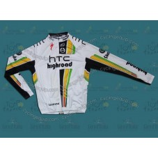 HTC Columbia 2011 Cycling Long Sleeve Jersey
