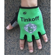 2016 Tinkoff Race Green Cycling Gloves