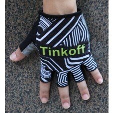 2016 Tinkoff Training Black/Yellow Cycling Gloves
