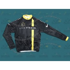 2011 LiveStrong Thermal Cycling Long Sleeve Jersey