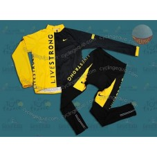LiveStrong Thermal Cycling Long Sleeve Jersey And Pants Set