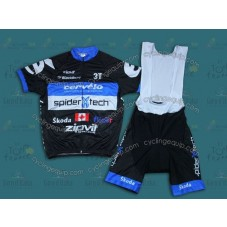 2013 Cervelo Spider Tech  Cycling Jersey And Bib Shorts Set