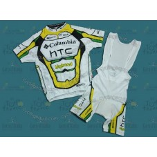 HTC Columbia 2010 Cycling Jersey And Bib Shorts Set