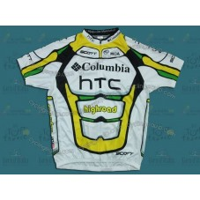 HTC Columbia 2010 Cycling Jersey
