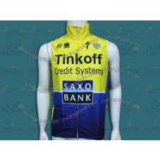 2014 Tinkoff Saxo Bank Cycling Wind Vest