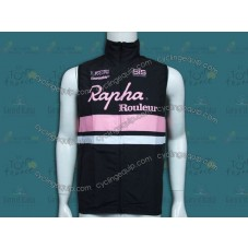 2014 Rapha Black And Pink Cycling Wind Vest